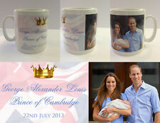 HRH PRINCE GEORGE ALEXANDER LOUIS - ROYAL BABY MUG CUP - WILLIAM KATE (No.3)