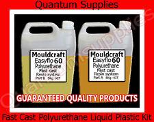 Easyflo 60 - 10 litri FAST CAST POLIURETANO LIQUIDO KIT IN PLASTICA