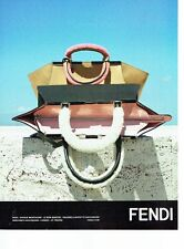 PUBLICITE ADVERTISING 126  2014   les sacs Fendi