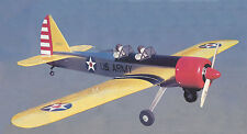 Giant Sport Scale PT-19 Trainer Plane Plans, Templates and Instrcutions