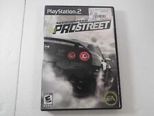 Need for Speed ProStreet Sony PlayStation 2 2007 CIB Complete PS2 PSX Free Ship