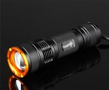 Mastiff Z3 Zoomable CREE XM-L T6 LED 600 Lumen Warm White Lamps Flashlight Torch