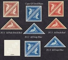 Cape of Good Hope Sg1,2,3.4 (forgeries)
