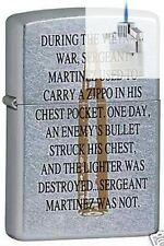 Zippo 6331 vietnam war bullet Lighter & Z-PLUS INSERT BUNDLE