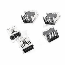 10Pcs Mini USB Type B 5-Pin Female Socket Right Angle DIP Jack Connector