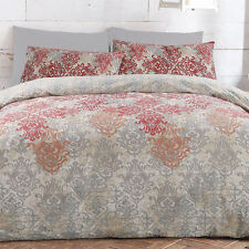 APARTMENTO Reesa Multi Queen Size Bed Reversible Doona Duvet Quilt Cover Set