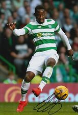 CELTIC HAND SIGNED MOUSSA DEMBELE 12X8 PHOTO PROOF 11.