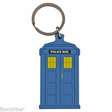 Dr Che porta chiavetta polizia box in pvc Dr che Polizia call box portachiavi