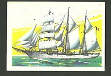 Beautiful Belgian Sailing Ship Mercator Yacht Sailboat Jacques Chocolate Card