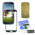 Black Replacement Glass Lens Screen Kit For Samsung Galaxy S4 SIV i9500 + Tools