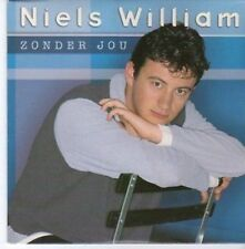 (BC328) Niels William, Zonder Jou - 1996 CD