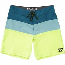 "Billabong Men Tribong X 19"" Platinum X Boardshorts Swimwear Sz 32"
