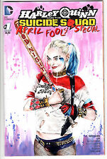 HARLEY QUINN APRIL FOOLS' SPECIAL #1 ORIGINAL ART/SKETCH by JENNIFER ALLYN
