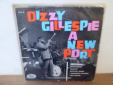 "LP 12 "" DIZZY GILLESPIE A NEW PORT - VG/VG+ VERVE BARCLAY - 3610 - FRANCE"
