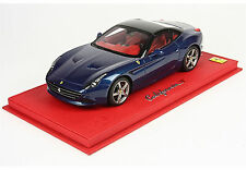 BBR Ferrari California T Closed Abu Dhabi Blue DELUXE w/case #01/10pcs 1:18*New!