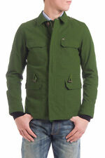 RRP €309 DIESEL Size L Men's Contrast Leather Elbow Patches Jacket - From POPPRI