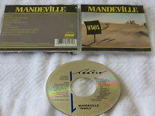 Gaston MANDEVILLE - Rebels CD 1990 MEGARARE AOR MCA Canada Indie VG OOP