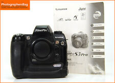 FUJI S3 PRO CAMERA BODY + GRATIS UK Affrancatura