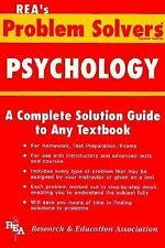 NEW - Psychology Problem Solver (Problem Solvers Solution Guides)