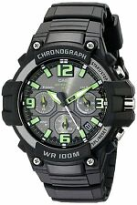 Casio Men's MCW-100H-3A Heavy Duty Chronograph Digital Display Quartz Watch 100M