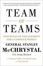 Team of Teams: New Rules of Engagement for a Complex World, Fussell, Chris, Silv