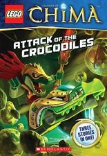 LEGO® Legends of Chima: Attack of the Crocodiles (Chapter Book #1)-ExLibrary