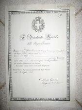 W900-PIEMONTE-NOBILTA'-CASIMIRO MASSIMINO DI CEVA AUTOGRAFO