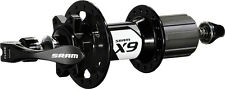 SRAM X9 6-Bolt Disc Rear Hub 32H Black w/ QR Skewer 10x135 J-bend