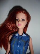 BARBIE MIDGE DOLL RED HEAD DRESSED WEARING COWBOY BOOTS