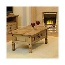 Lounge Coffee Table Living Room Antique TV Furniture Tea Wooden Table Draw Wax