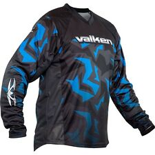New Valken Paintball Crusade Riot 2016 Playing Jersey - Blue - Medium M