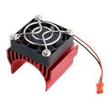 NEW 550 540 Motor Heatsink RED Heat Sink Cooling Fan Net Cover For 1:10 Car U