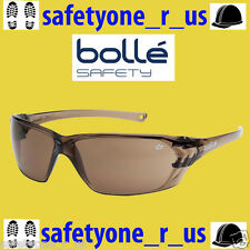 2x pairs Bolle Safety Glasses - Prism - Bronze Lens (Brown Tint)