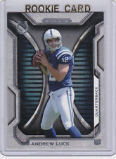 ANDREW LUCK Topps Strata NFL RC Colts ROOKIE CARD Indianapolis 2012 NFL #1 PICK