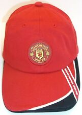 Manchester United FC Red Ball Cap Hat, Adjustable, Official, NWT--FREE Shipping