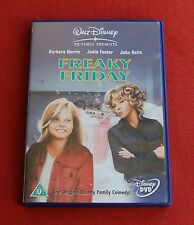 Freaky Friday - Region 2 DVD - Jodie Foster, Barbara Harris, John Astin - Disney