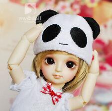 Cute Panda Ear Plush Hat Beanie Smile Cap for 1/6 BJD SD AI YOSD DZ Accessories
