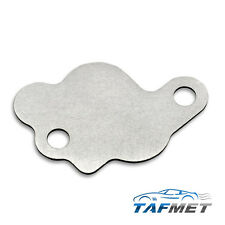 62. EGR valve blanking plate for FORD Duratec-HE 1.8 2.0 2.3 FOCUS MONDEO SMAX