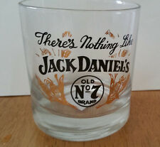 There's Nothing like Jack Daniel's Bourbon Whiskey Rocks Glass Tumbler Bar Cup