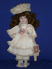 Vintage Madalyn Porcelain Dynasty Collection Doll by Cardinal Inc 18in c1990s