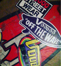 VANS STICKER homage, OFF THE WAVE  by Voodoo Street, panel van, camper, cal look