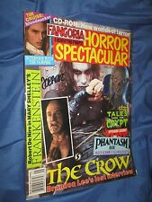 FANGORIA HORROR SPECTACULAR #10 The Crow Magazine SIGNED by James O'Barr