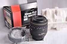 Per Nikon AF Sigma DG MACRO 50mm f/2, 8 ex, OVP