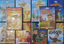 """BROTHER FRANCIS COMPLETE(10) DVD SERIES COMBO:INCLUDING """"HE IS RISEN""""10-DVD SET"""