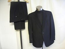 "Mens Dinner Suit Odermark black, chest 46"" trousers W 40 L 29, to dry clean 7179"