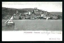 Passignano ( Perugia / Lago Trasimeno ) non viaggiata indicativamente primi '900