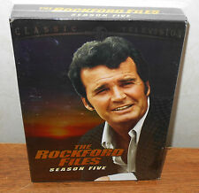The Rockford Files - Season 5 (DVD, 2008, 5-Disc Set) BRAND NEW, SEALED
