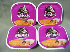 WHISKAS CHICKEN DINNER - 4 PACKAGES - 400 g - PAMPER YOUR CAT WITH PATE!
