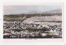 RPPC,Whitehorse,Yukon Terr.Canada,Bird's Eye View,Gowen-Sutton Photo,c.1920-30s