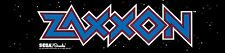 Zaxxon Arcade Marquee For Reproduction Header/Backlit Sign
